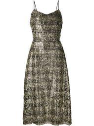 вечернее платье с бахромой Tanya Taylor