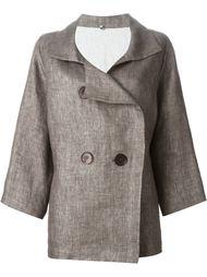 двубортный пиджак  N_8