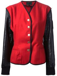 куртка колор блок Jean Paul Gaultier Vintage