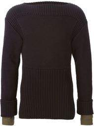 свитер с вырезом-лодочкой Juun.J