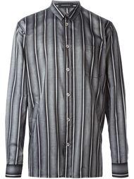 рубашка в полоску  Kris Van Assche