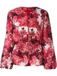 куртка с цветочным принтом на молнии Moncler Gamme Rouge