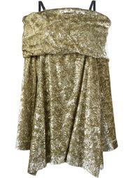платье с открытыми плечами Isa Arfen