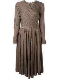 платье с запахом  Louis Feraud Vintage
