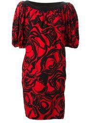 мешковатое платье с принтом Yves Saint Laurent Vintage