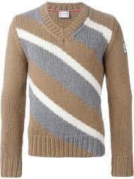 свитер в полоску  Moncler Gamme Bleu
