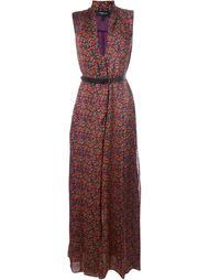 платье макси с цветочным узором Derek Lam