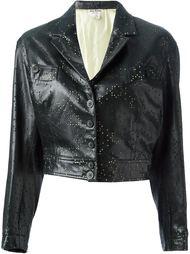 перфорированная куртка Alaïa Vintage