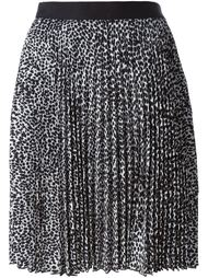 плиссированная юбка Neil Barrett
