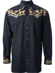 рубашка с западным мотивом Jean Paul Gaultier Vintage
