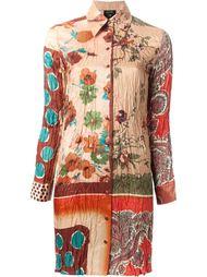 платье-рубашка с узором Jean Paul Gaultier Vintage