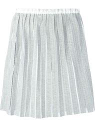 сетчатая юбка в полоску  Julien David