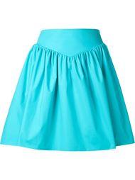 плиссированная юбка с поясом  Moschino