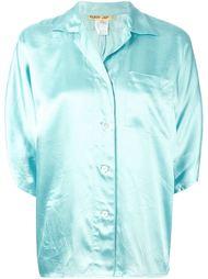рубашка с заостренным воротником Kenzo Vintage