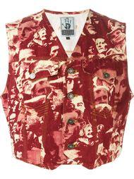 жилетка 'L'Europe de L'Avenir' Jean Paul Gaultier Vintage