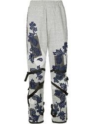 спортивные брюки с кружевной аппликацией James Long