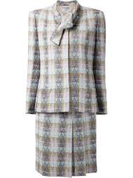 костюм из букле с юбкой  Chanel Vintage