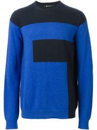 свитер колор-блок  T By Alexander Wang