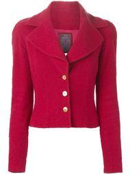 приталенный пиджак John Galliano Vintage