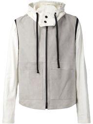 куртка с капюшоном и съемным жилетом  Ann Demeulemeester