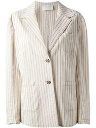 пиджак в полоску  Prada Vintage