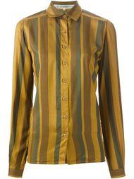 полосатая блузка Jean Louis Scherrer Vintage