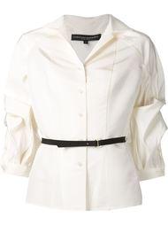 блузка с объемными рукавами Carolina Herrera