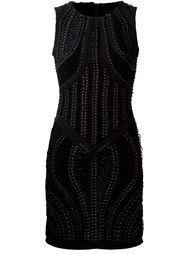 платье с узорной шнуровкой  Iris Van Herpen