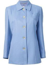 приталенный пиджак-рубашка  Céline Vintage