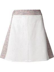 перфорированная мини-юбка Tess Giberson