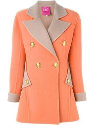 двубортное пальто Christian Lacroix Vintage