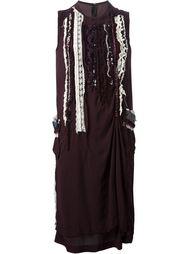 платье с аппликацией 'Tricot CDG' Comme Des Garçons Vintage