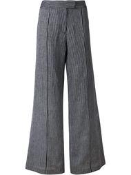 расклешенные брюки в полоску Strateas Carlucci