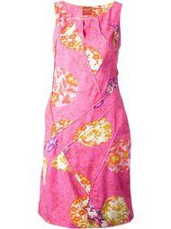 платье с принтом 'Nature'  Kenzo Vintage