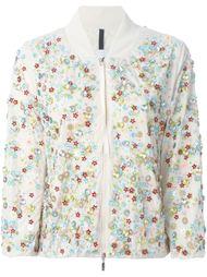 куртка-бомбер с декоративной отделкой Moncler