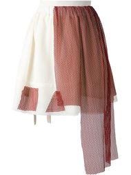 юбка с фартуком спереди Area Di Barbara Bologna