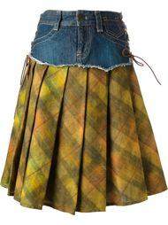 двухслойная юбка Jean Paul Gaultier Vintage