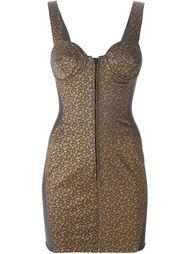 облегающее платье с цветочным принтом  Jean Paul Gaultier Vintage