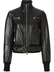 байкерская куртка-бомбер Alexander McQueen