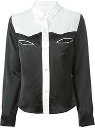 рубашка в стиле колор-блок Filles A Papa