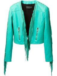 куртка с бахромой Balmain