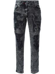 джинсы кроя скинни  с заклепками  Philipp Plein