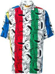 рубашка с принтом  Jc De Castelbajac Vintage