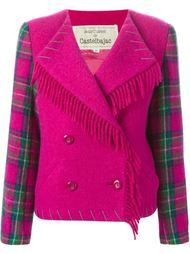 пиджак с бахромой Jc De Castelbajac Vintage