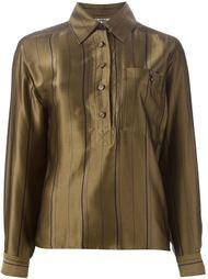 полосатая рубашка  Jean Louis Scherrer Vintage