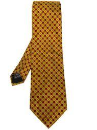 галстук в клетку Romeo Gigli Vintage
