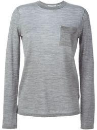 свитер с накладным карманом  Alexander Wang