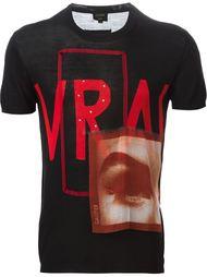 футболка 'Vrai Gaultier' Jean Paul Gaultier Vintage
