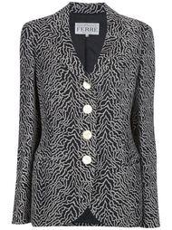 удлинённый пиджак-пальто Gianfranco Ferre Vintage