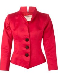 пиджак с воротником-стойкой Yves Saint Laurent Vintage